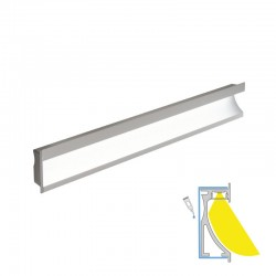 LED-WALL CCT LUX aluminium