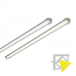 LED-CORNER CCT aluminium