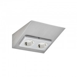 MINI-2, double socket, s/s