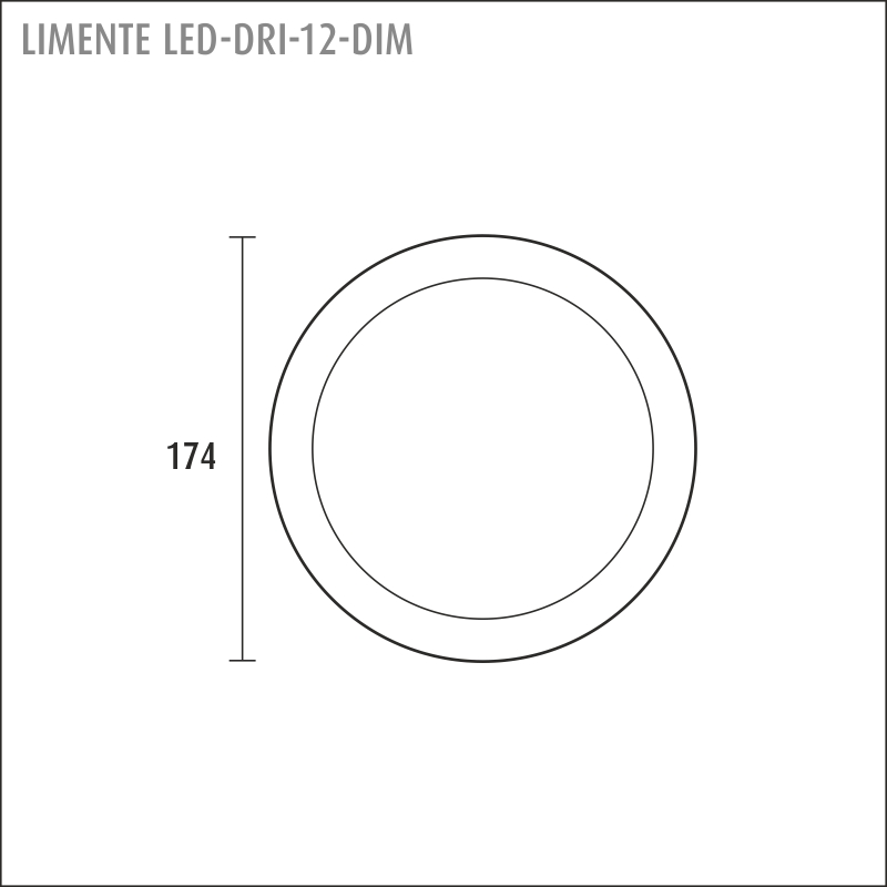 LED-DRI 12DIM, white