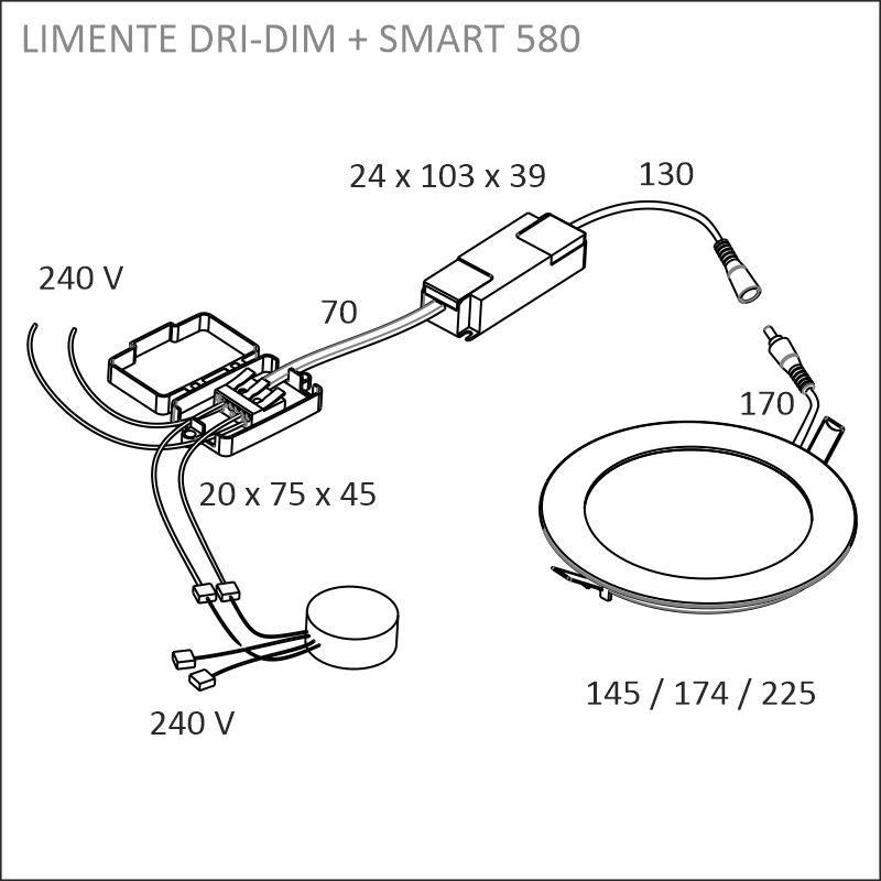 LED-DRI 18DIM