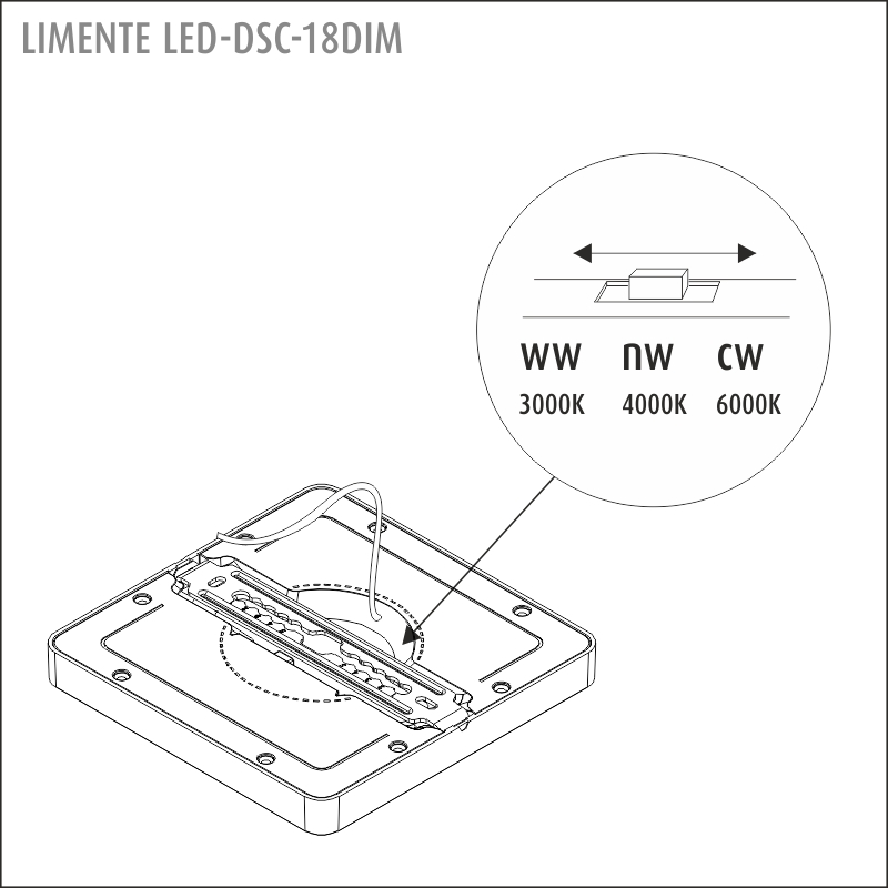 LED-DSC 18DIM