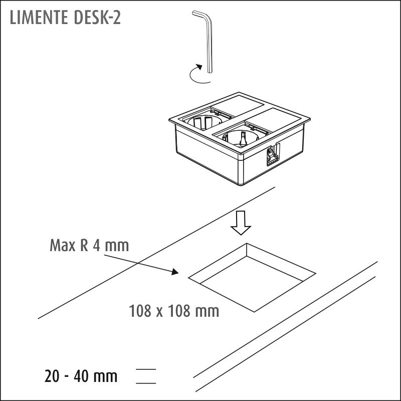 LIMENTE DESK-2