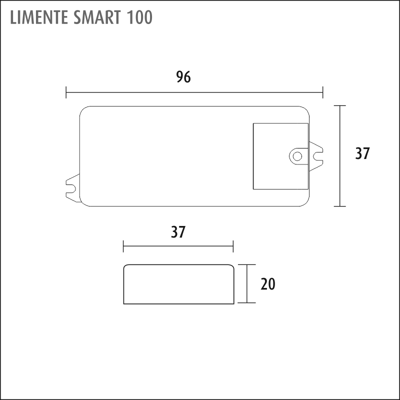 LIMENTE SMART 130 (läsnäolotunnistin)