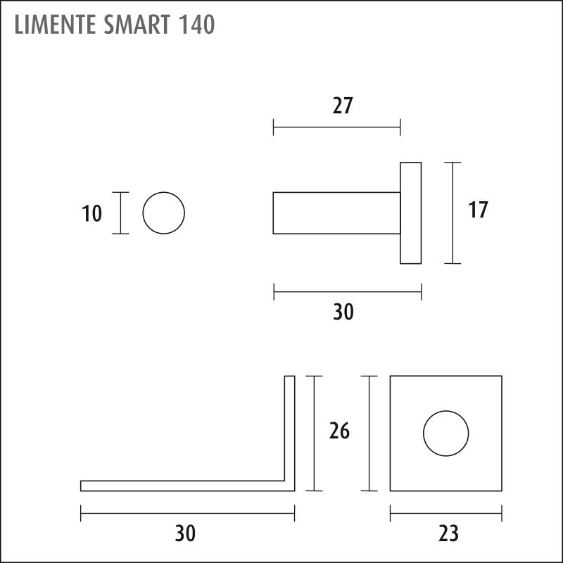 LIMENTE SMART 140 (ON/OFF kytkin)
