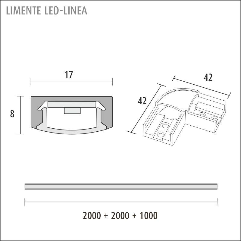 LED-LINEA 40, 4000 K