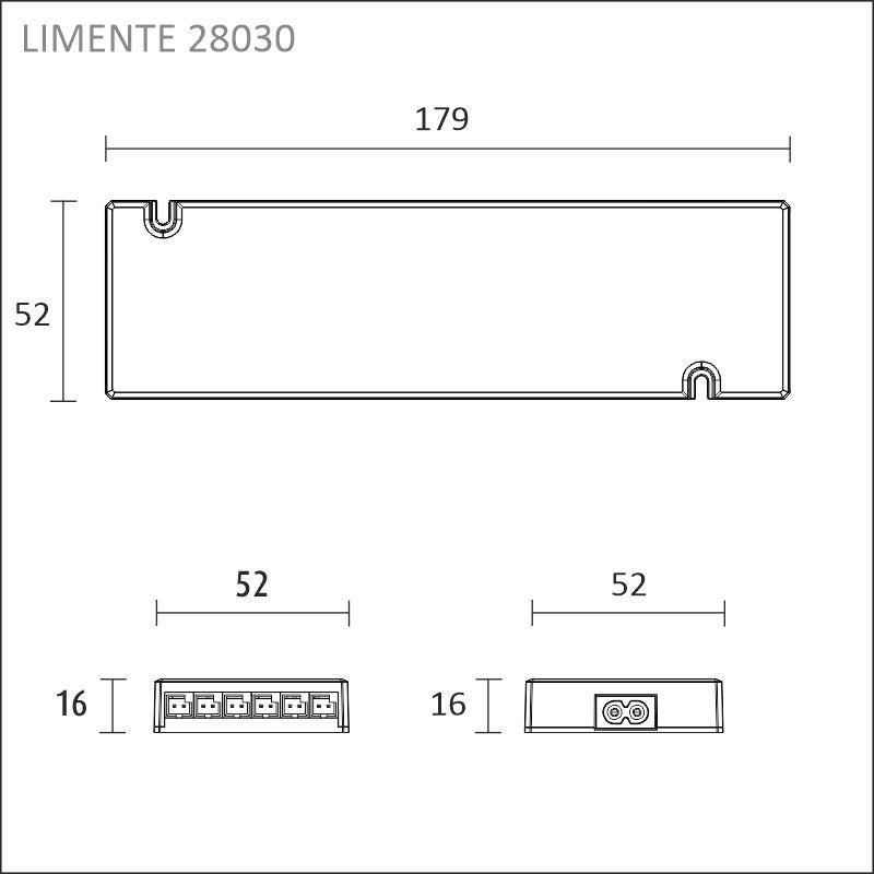 LIMENTE LED 24 V driver