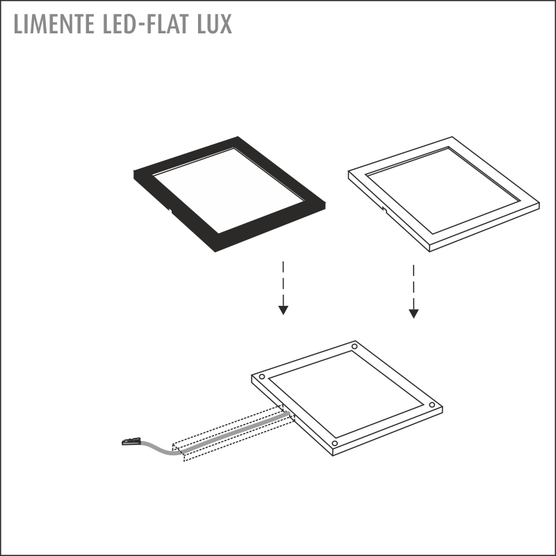 LIMENTE LED-FLAT 12 LUX