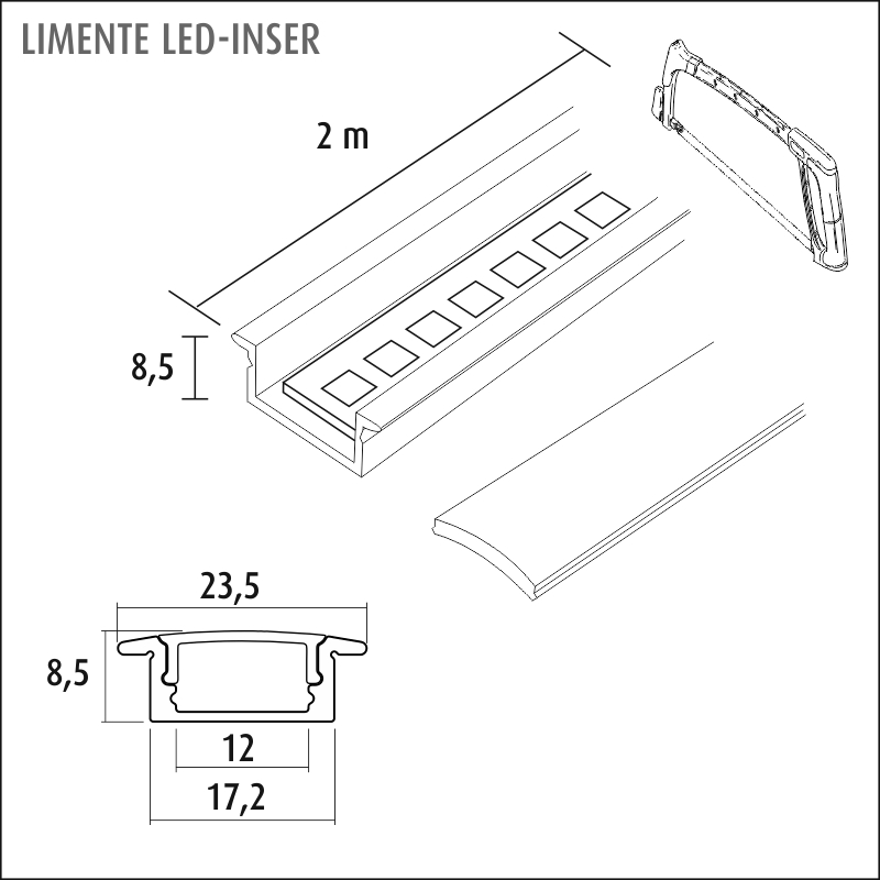 LED-INSER CCT