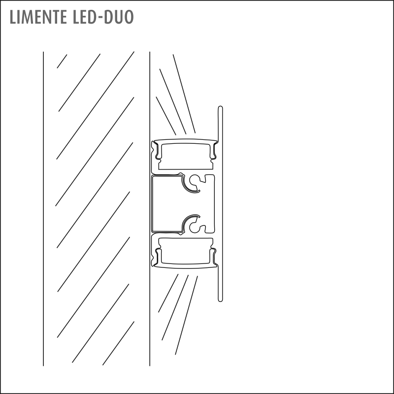 LED-DUO LUX valkoinen