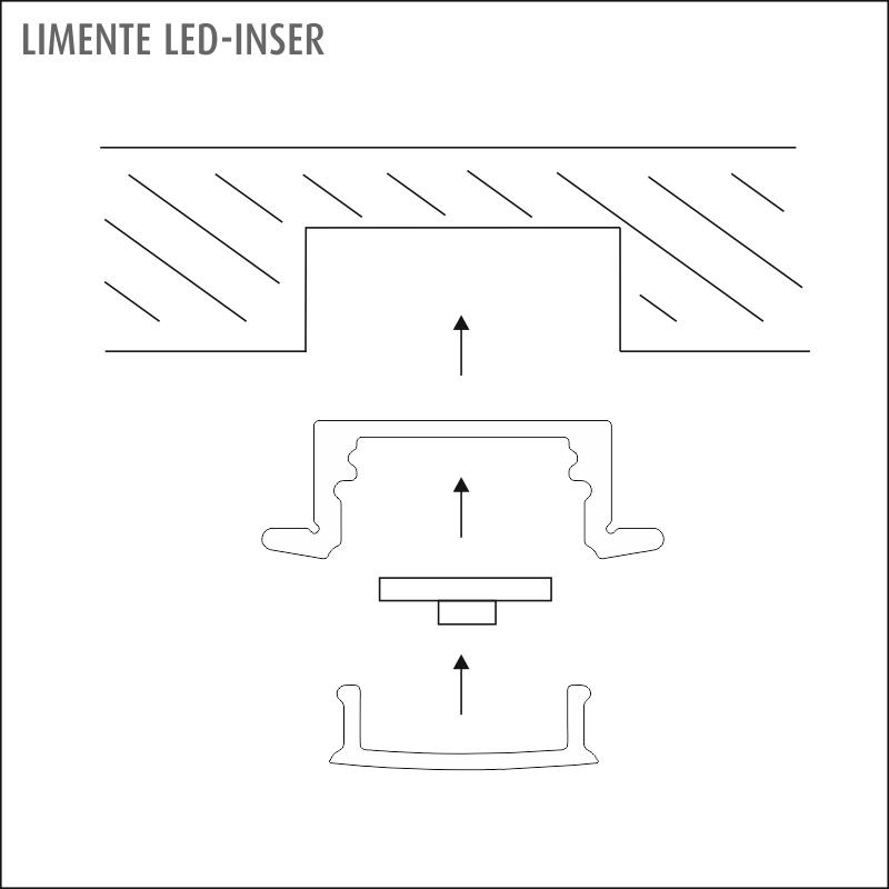 LED-INSER COM alumiini
