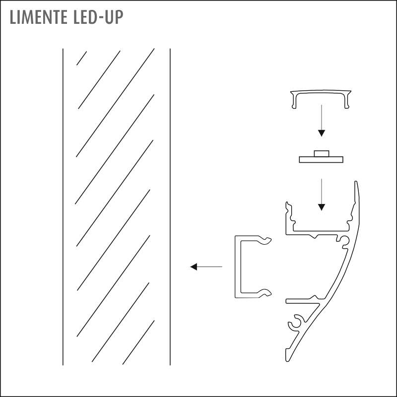 LED-UP LUX white