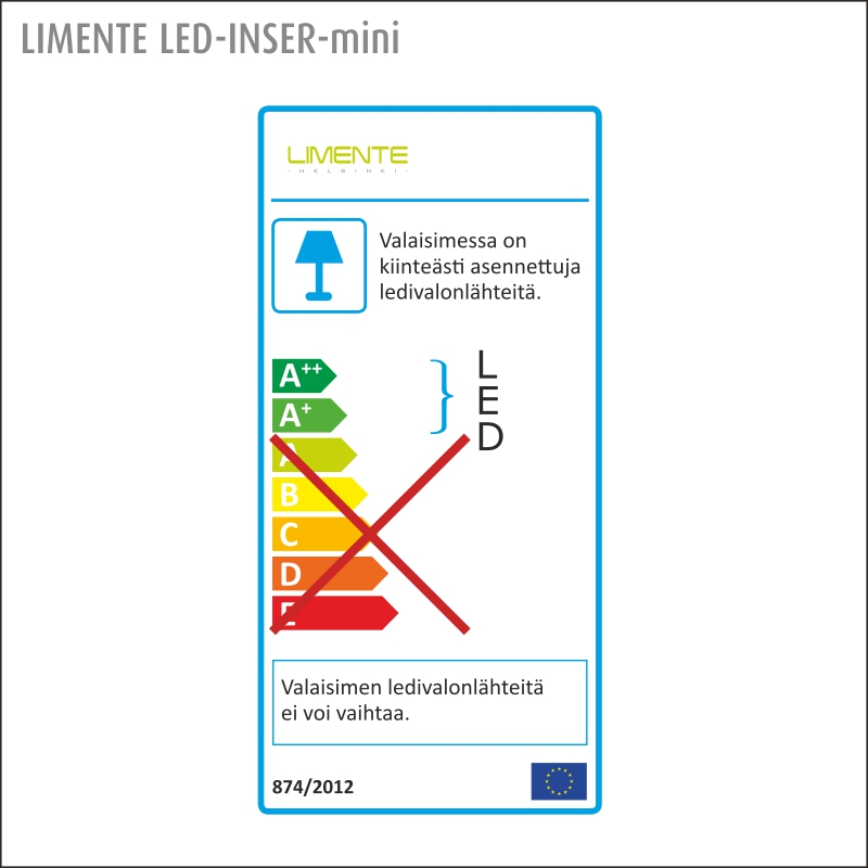 LED-INSER MINI LUX aluminium