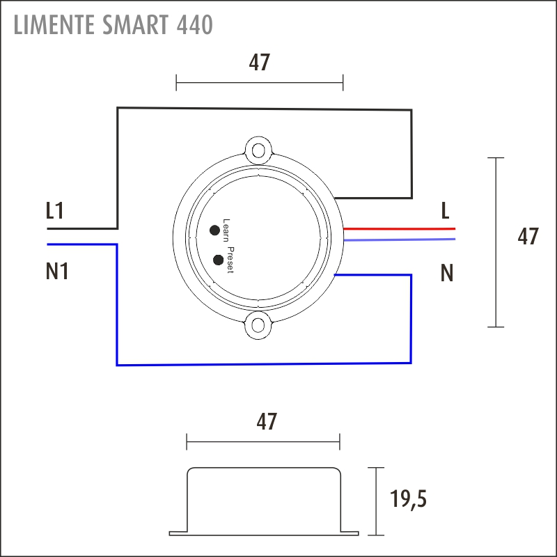 LIMENTE SMART 400 12 V