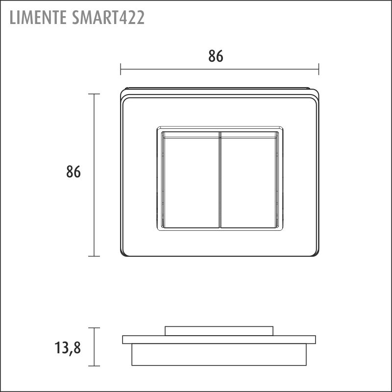 LIMENTE SMART 451 24 V, langaton valonohjaus