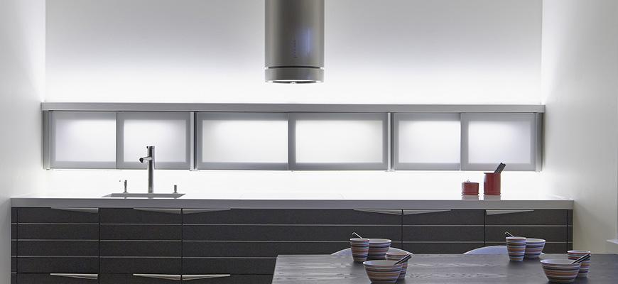 Epäsuora valo keittiö